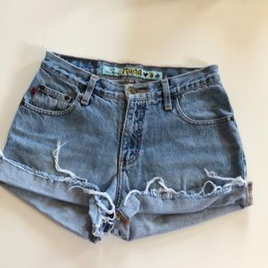 Vintage Mudd Denim Cutoffs Shorts